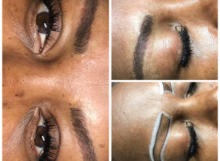 Looking to enhance your eyebrows? Then Microblading is right for you.