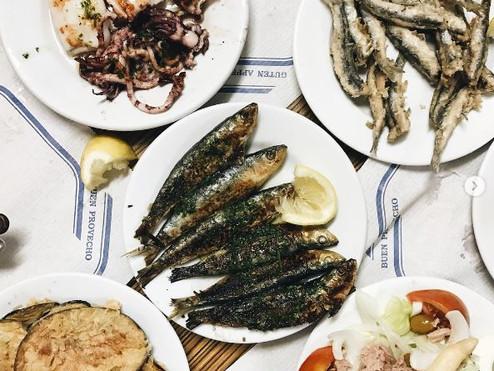 דגים ופירות ים בברצלונה