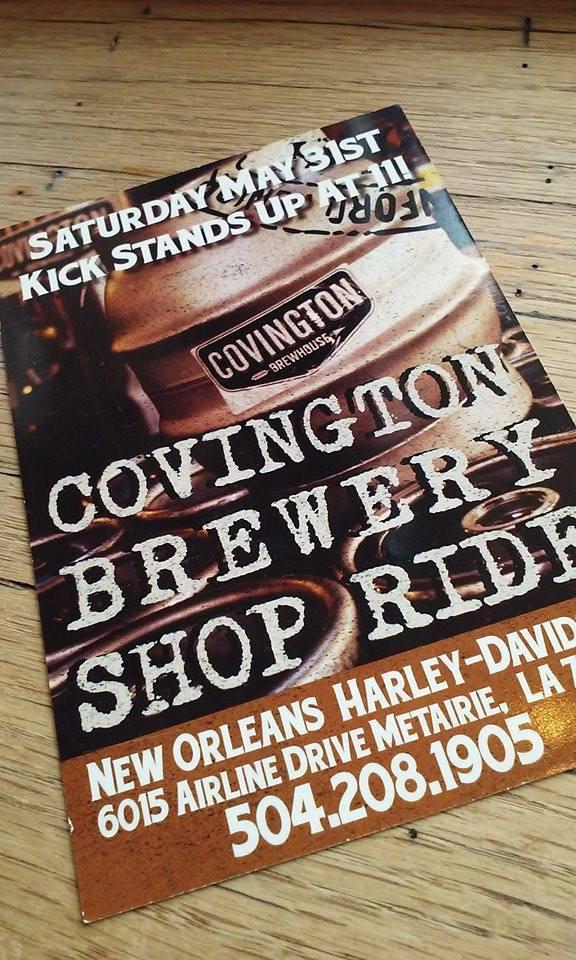 Harley Davidson/Covington Brewery