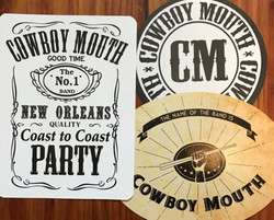Cowboy Mouth Stickers