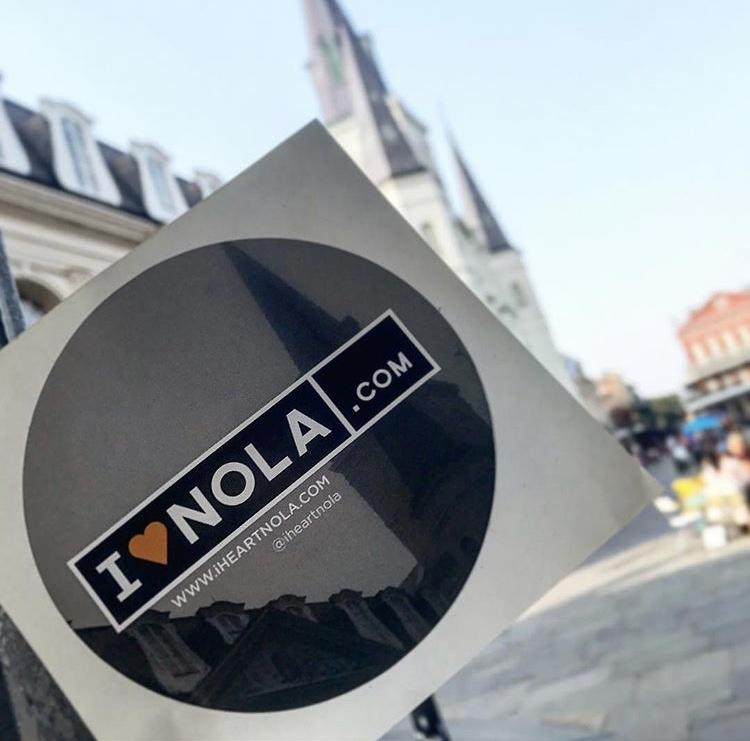 I Heart Nola Stickers