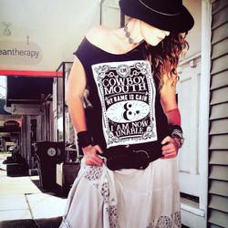 Cowboy Mouth Shirt Design