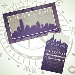 Dewey Business Cards