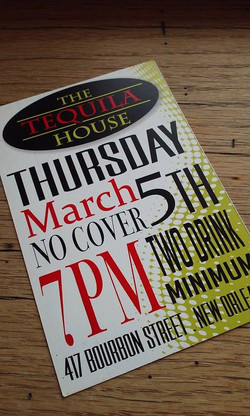 Tequila House Promo