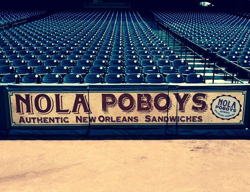 NOLA Poboy Houston Astros Stadium