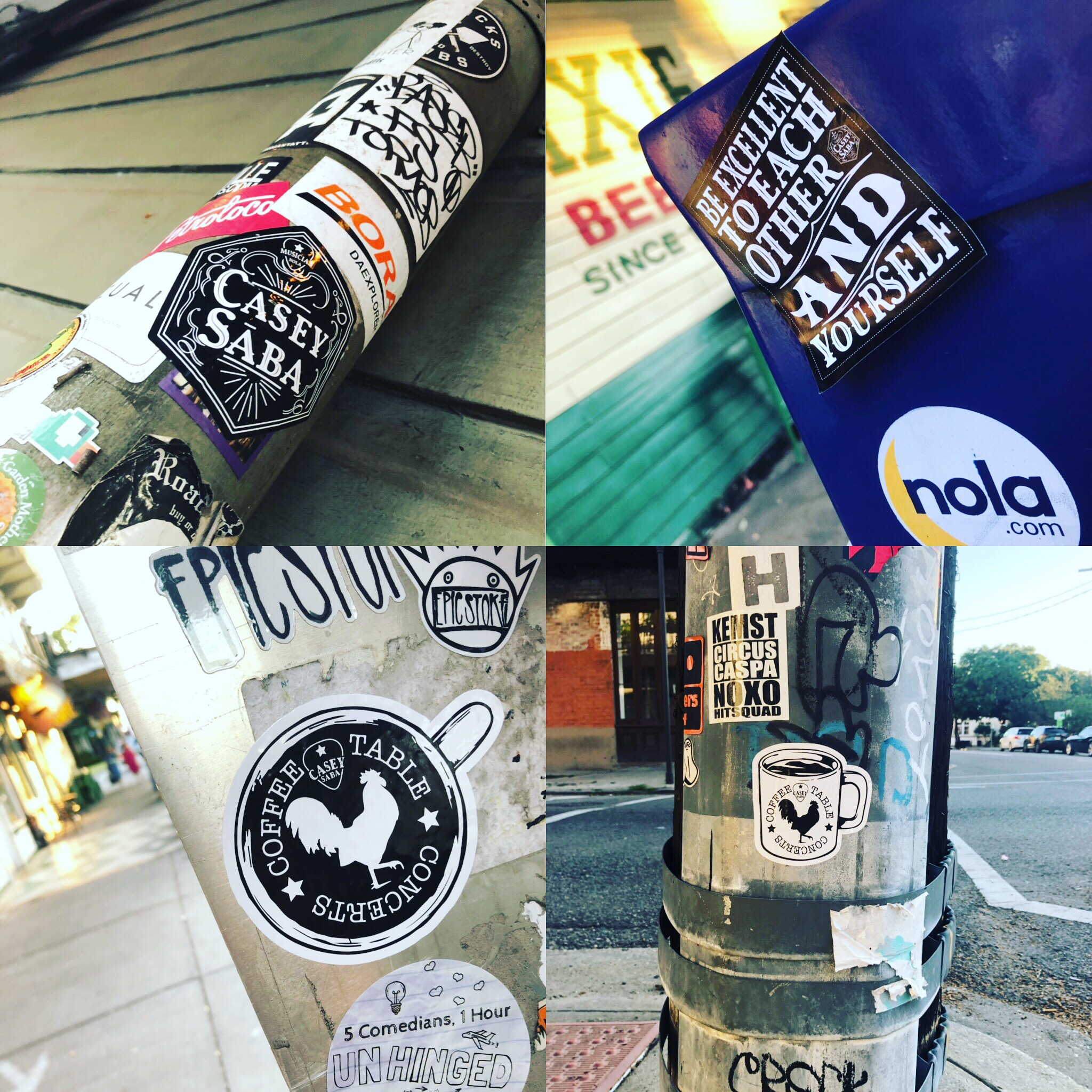 Casey Saba Stickers