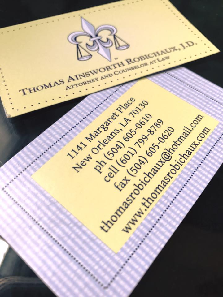 Thomas Robichaux Attorney