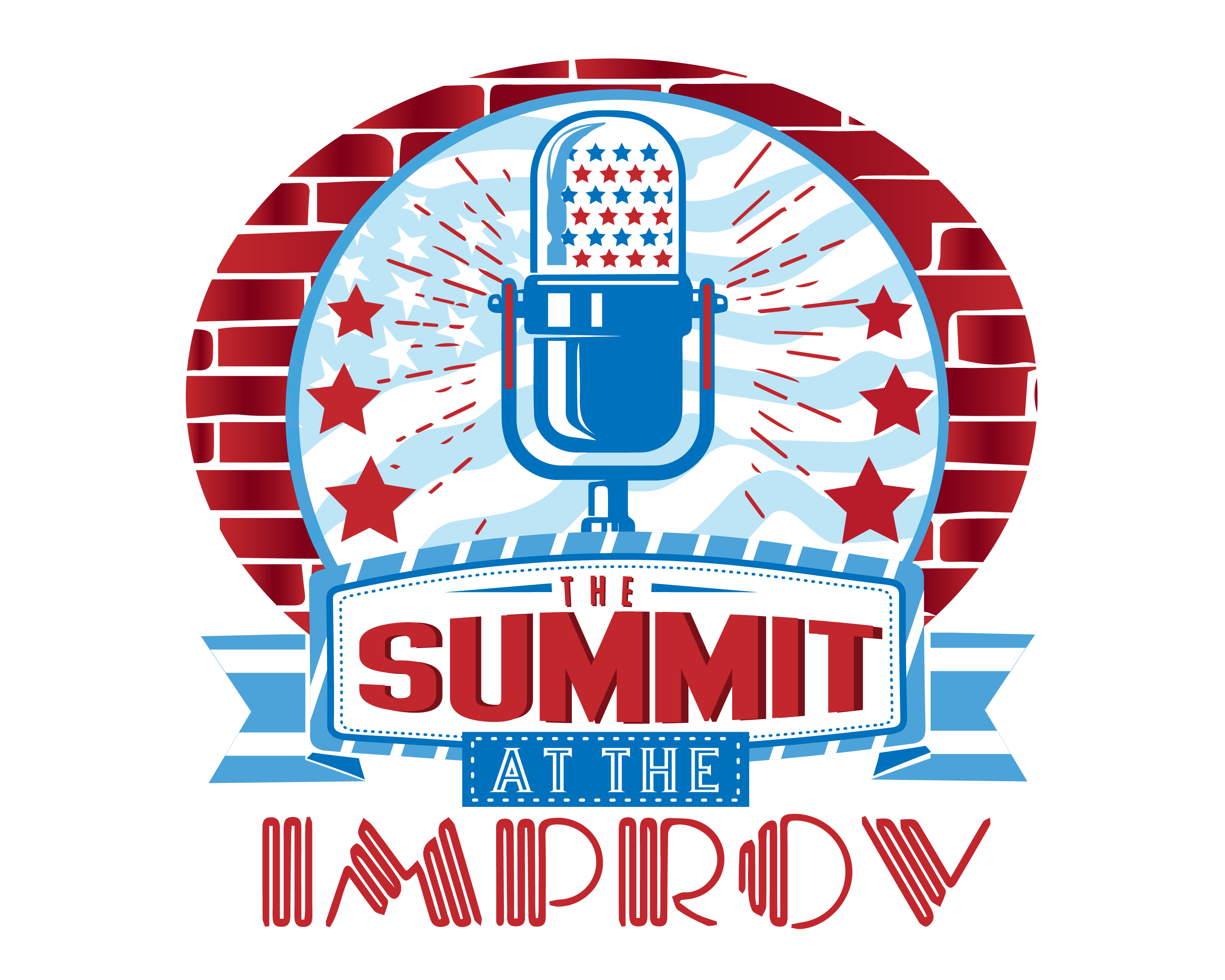 The Summit Podcast Logo @ The Improv in