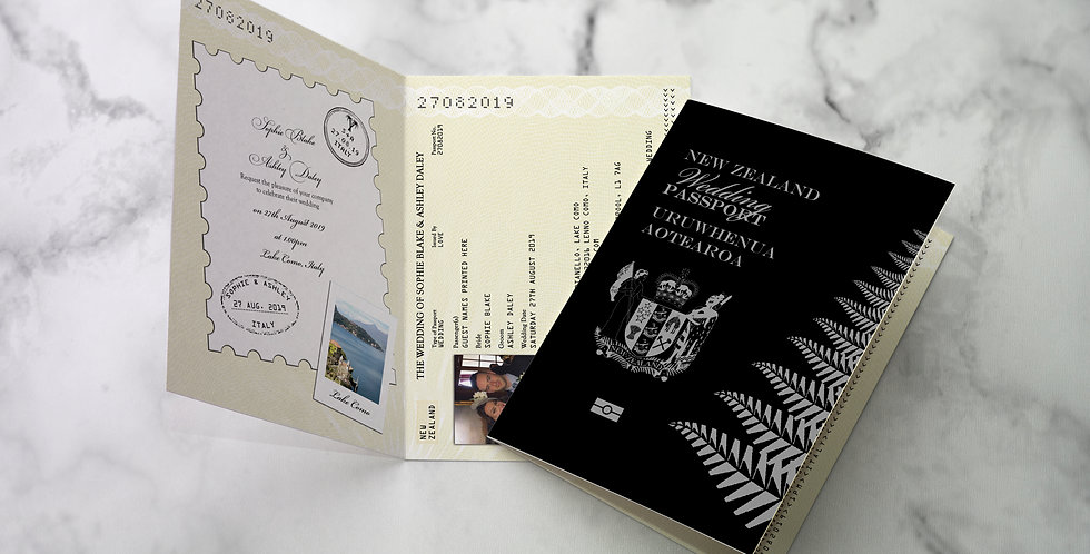 No.1 | New Zealand Passport / Travel Collection