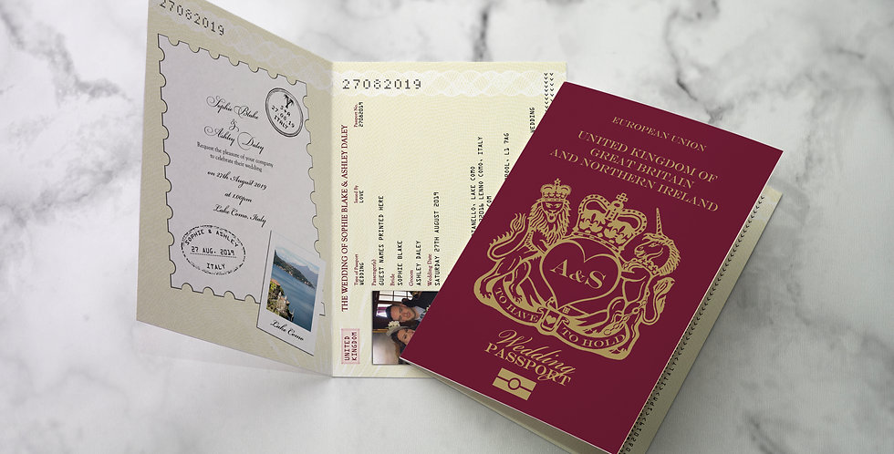 No.1 | British Passport / Travel Collection
