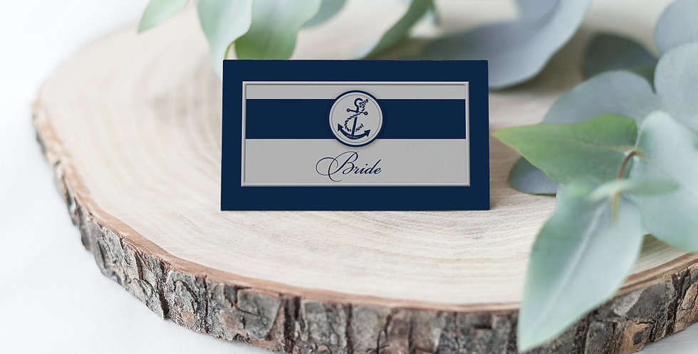 No. 7 | Nautica Place Card