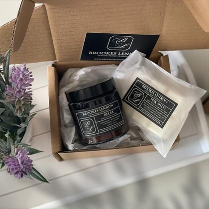 Candle + Melts Treat Box
