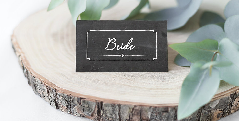 No.17 | Chalk About Love Place Card