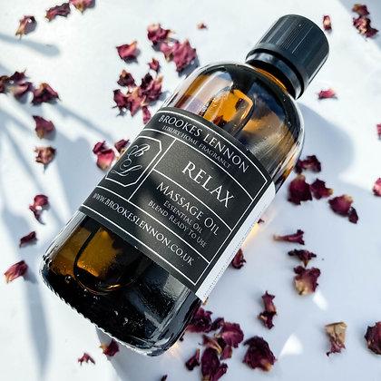 Relax Essential Massage Oil Blend (100ml)