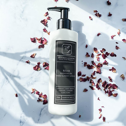 Relax Hand & Body Lotion