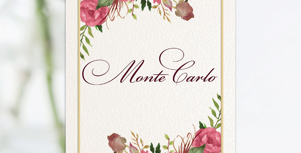 No.12 | Ravello Table Names / Numbers