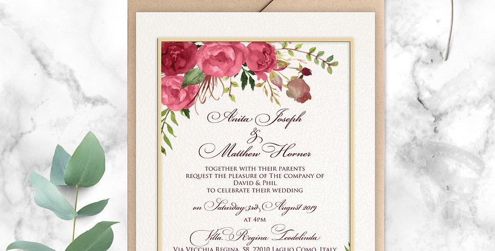 No.12 | Ravello Wedding Invitation