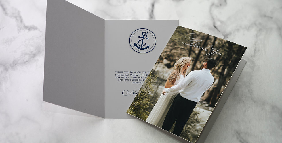 No 7. | Nautica Thank Cards