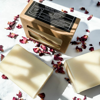 Relax Natural Organic Soap