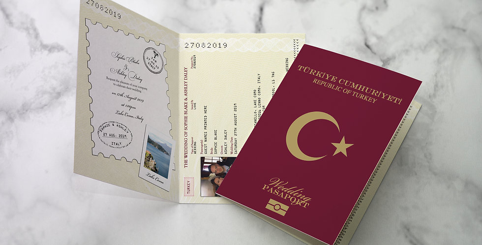 No.1 | Turkish Passport / Travel Collection