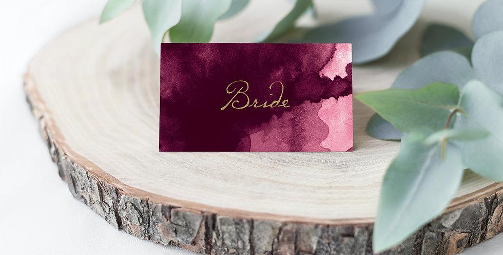 No.10 | Bordeaux Place Card