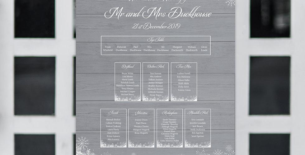 No.15 | Winter Table Plan