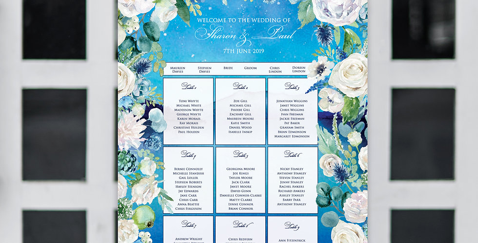 No.18 | Midsummer Dreams Table Plan