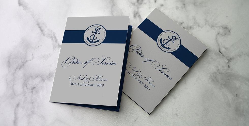 No 7. | Nautica Order of Service