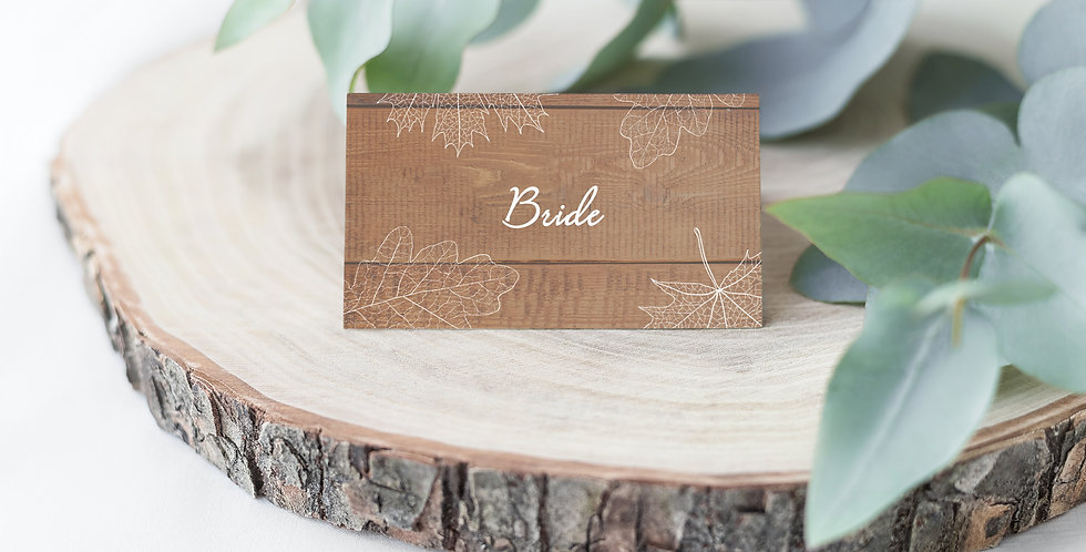 No.11 | Fall in Love Place Card