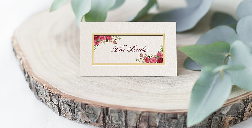 No.12 | Ravello Place Card