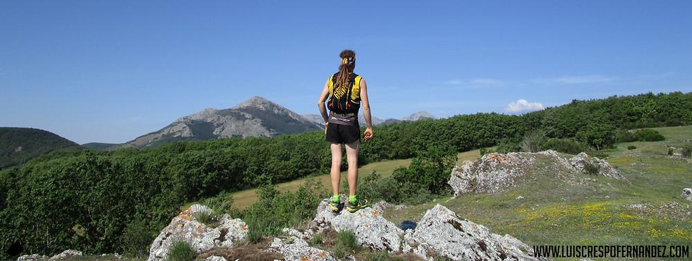 panorámica trail montaña palentina