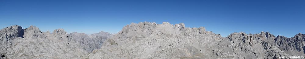 Panorámica desde la cima del Pico de la Padierna