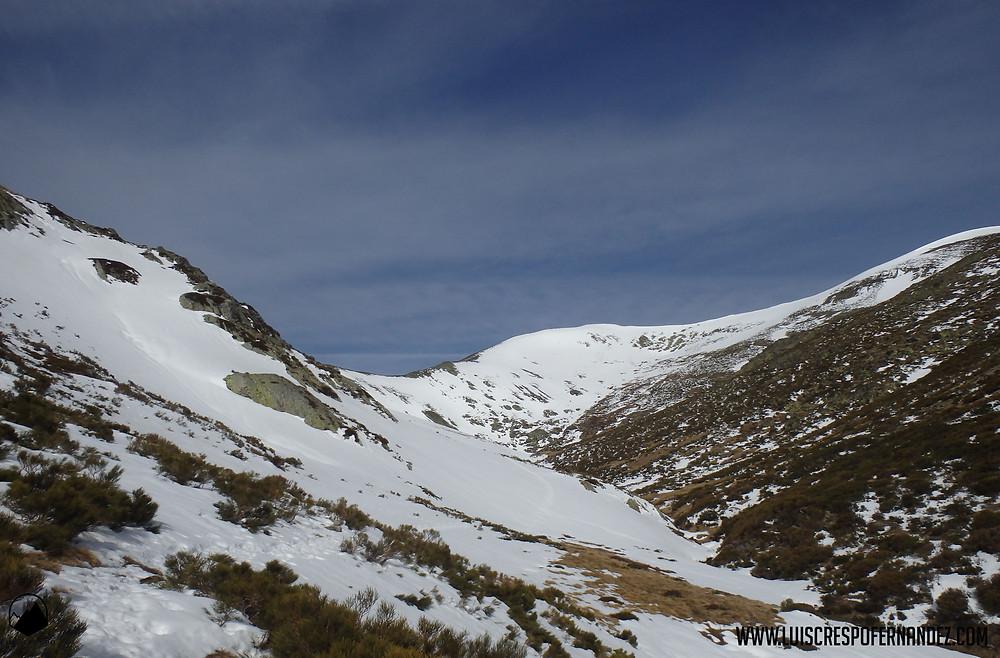 Vistas de la zona alta del Valle de Hontanillas.
