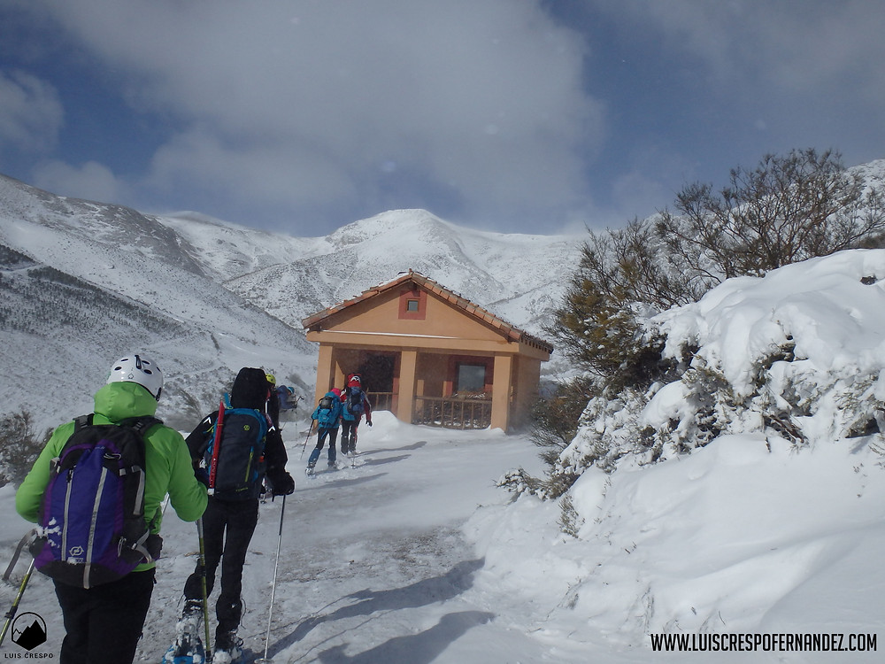 Refugio de Eros en el valle de Valdetriollo.