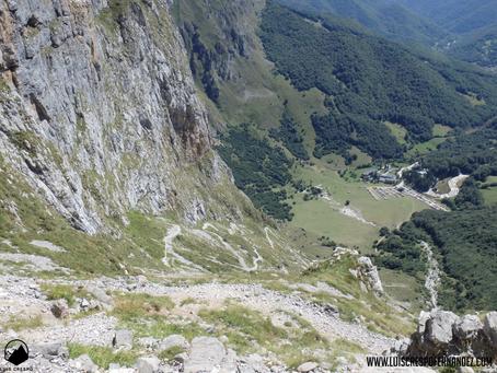 Ascensión al Pico de la Padierna por la Canal de la Jenduda