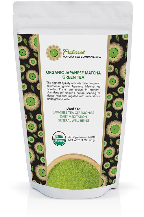 Preferred Matcha Tea 60 Gram Pouch
