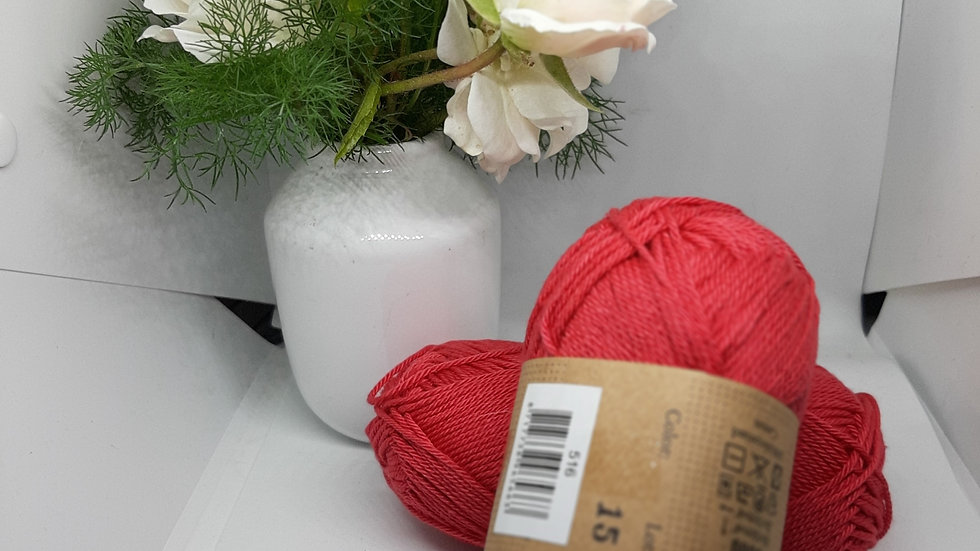 Coloris coton pour sac filet