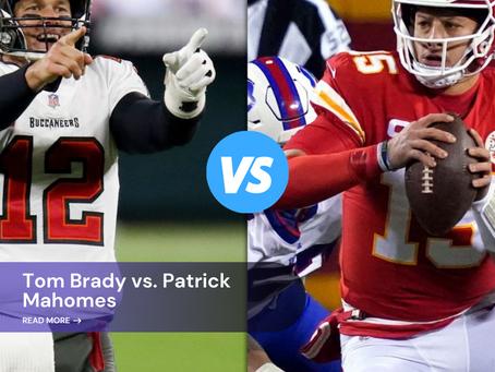 Mahomes vs Brady