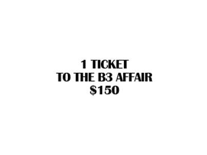B3 Affair Ticket