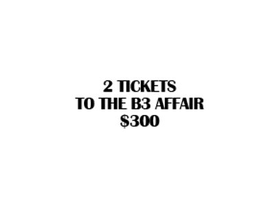 2 B3 Affair Tickets