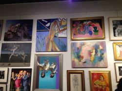 Gallery Z Figure top center, 2014