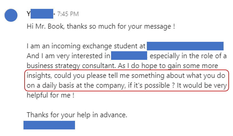 LinkedIn Cold Email