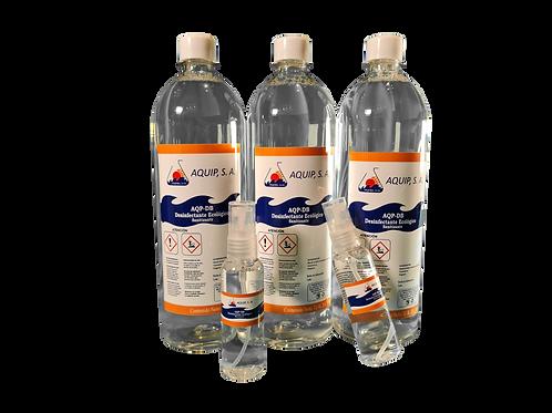 Sanitizante y Biosida AQUIPSA 3L + 2 Atomizadores