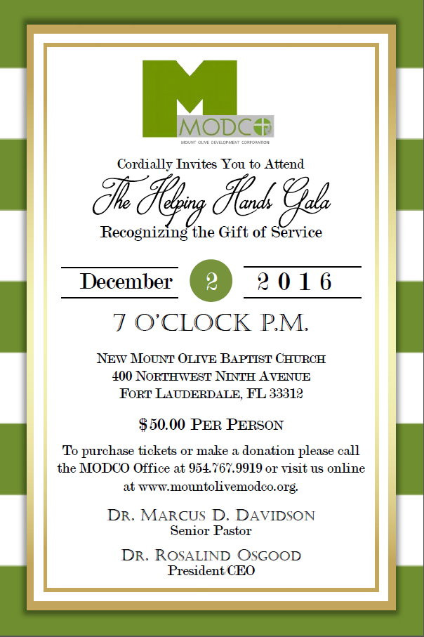 MODCO's 2nd Annual Helping Hands Gala