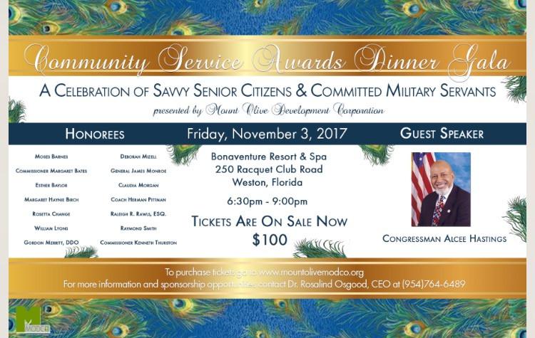 Community Service Awards Dinner Gala