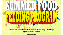 Summer Food Feeding Program