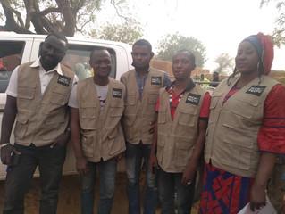 L'équipe de Micro-Recyc Niger à l'œuvre
