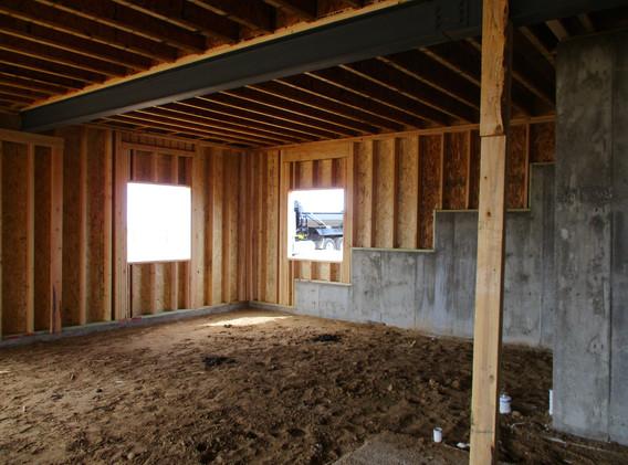 current basement interior