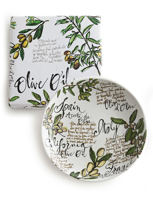 Olive Oil Pasta Serving Bowl