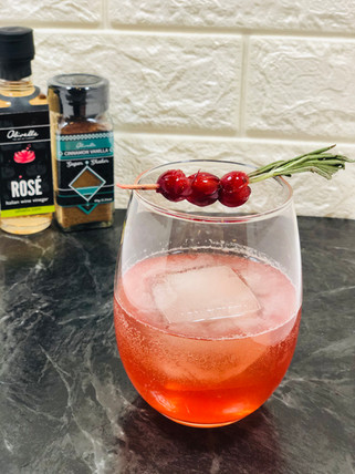 Cranberry Shrub Cocktail